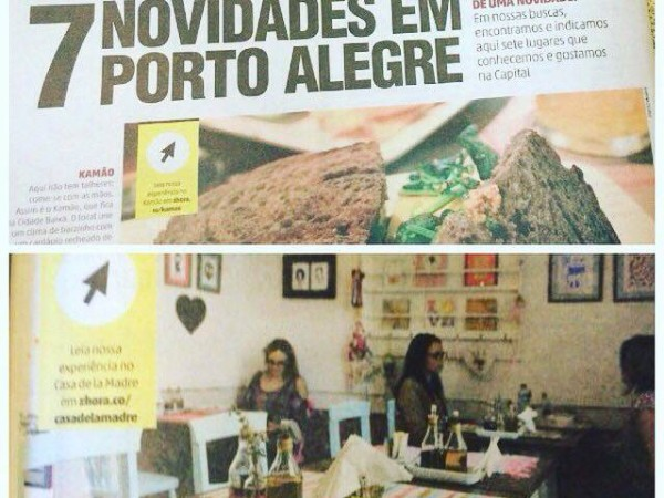 Caderno Gastronomia - Destemperados - Zero Hora - abril 2016
